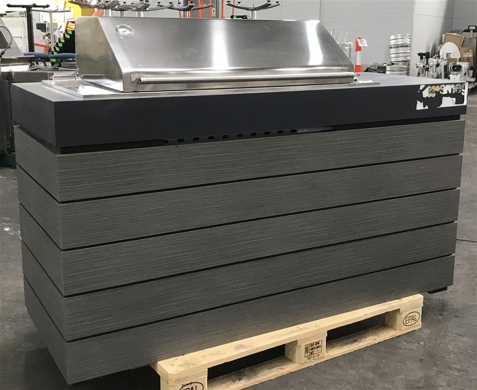 Smeg BQ11205HAH Alfresco 5 Zones Burner Built-in Gas BBQ