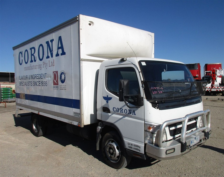 2008 Mitsubishi Canter Pantech Body Truck