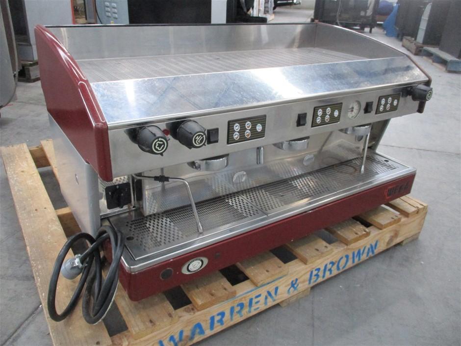 Wega EVD/3-AT Commercial Expresso Coffee Machine