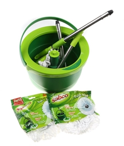 SABCO Compact Spin Mop Set. N.B. Not in