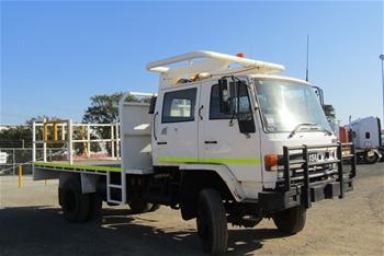 1988 Isuzu FTS 4 x 4 Tray Body Truck