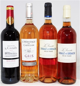 Pack of Assorted French Wine (4 x 750ml)