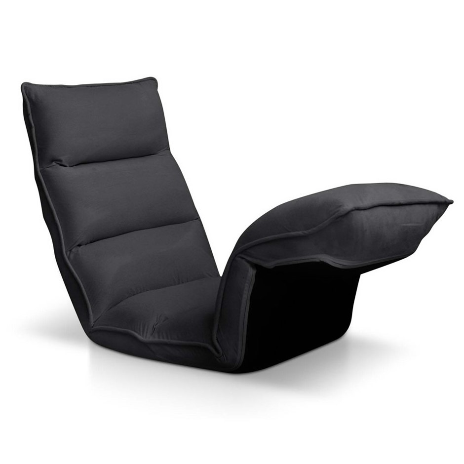 Artiss Adjustable Floor Lounge Chair- Charcoal