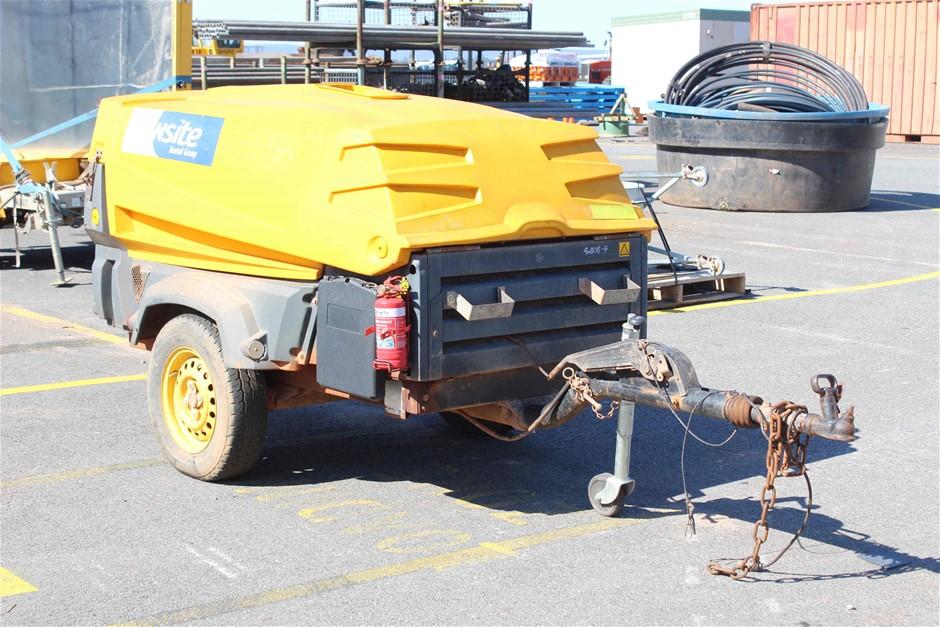 2009 Atlas Copco XAS97 185CFM Diesel Compressor