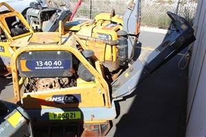 2012 Atlas Copco 502Kg Diesel Plate Comp