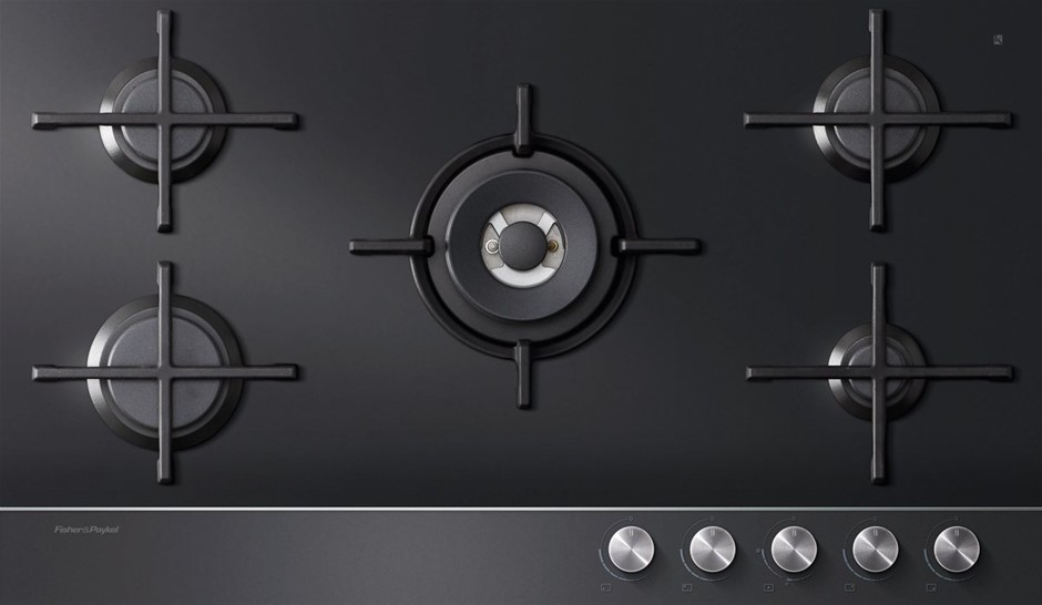 Fisher & Paykel CG905DNGGB1 90cm Natural Gas Cooktop