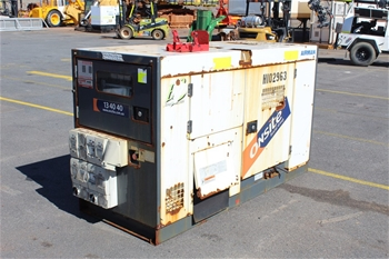 2015 Airman 50kVa Diesel Powered Generator