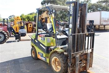 2012 Clark Forklift Truck