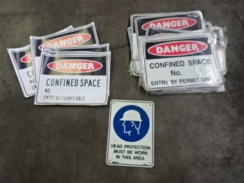 Qty 40 x Work Site Signs
