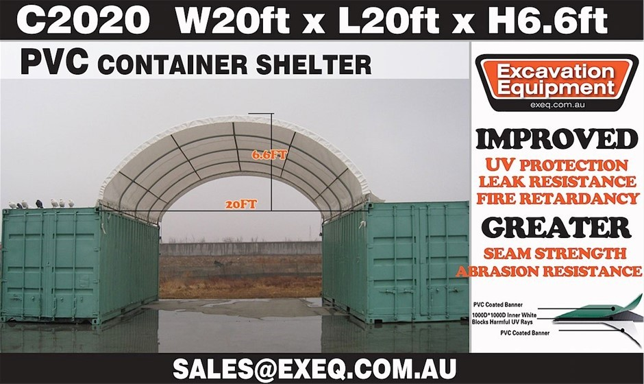 2019 Unused Heavy duty 20ft Container Shelter