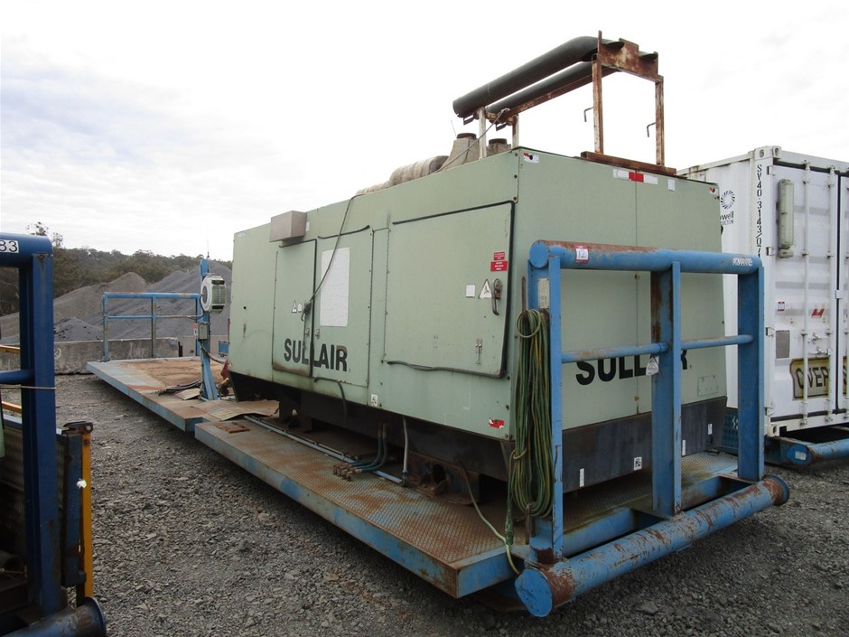 Sullair Skid Mounted Compressor