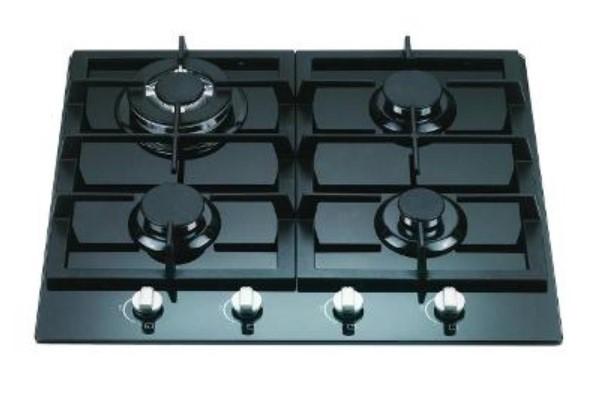 Euroart BLIV60CF 60cm Gas on Glass Cooktop