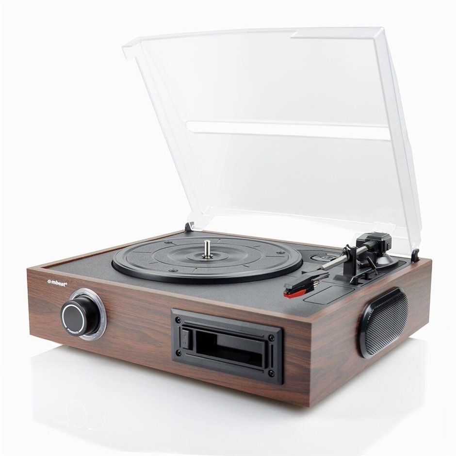 mbeat USB-TR08 2-in-1 USB turntable and cassette digital recorder
