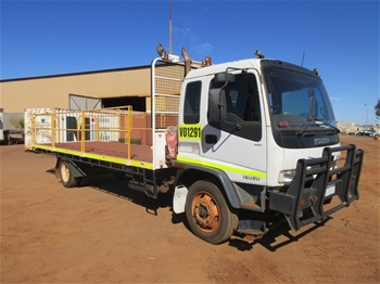 2006 Isuzu FSR 4x2 Tray Body Truck