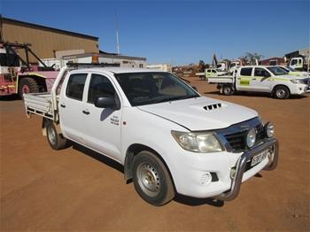 2012 Toyota Hilux 4x4 Dual Cab Utility