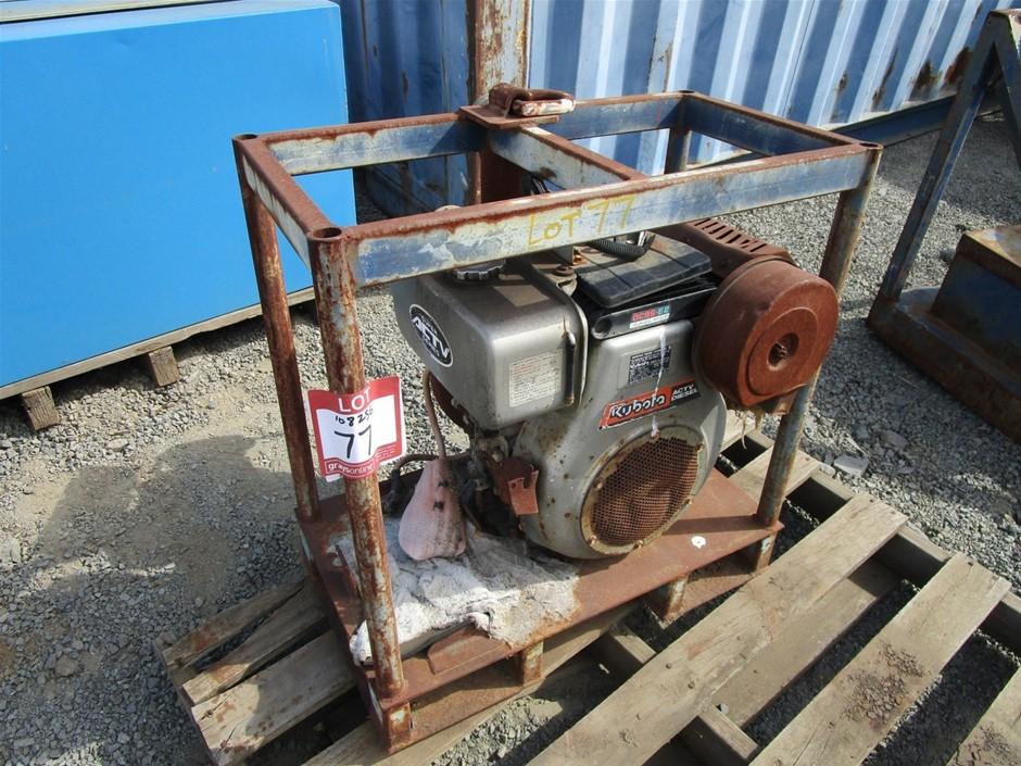 Kubota 0C95-E2 Engine Pump