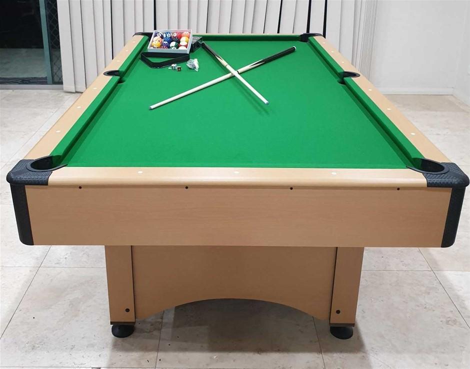 BRAND NEW Pool Table Pub Size 7 foot (Green) + Bonus Free Accessories