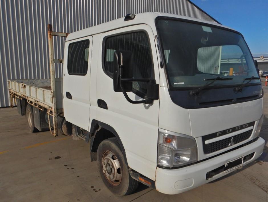 2009 Mitsubishi Fuso Canter 7/800 4x2 Tray Body Truck (Pooraka, SA)
