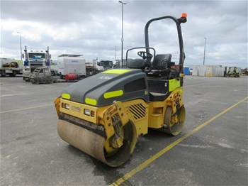 2012 Bomag BW 120 AD-4 Smooth Drum Roller