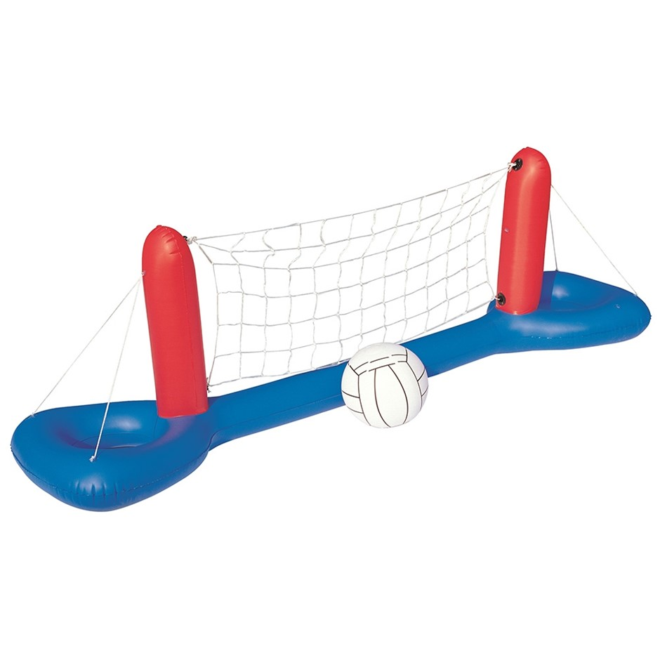 Bestway Inflatable Pool Volleyball Set & Ball Floating Swimming Pool Toy