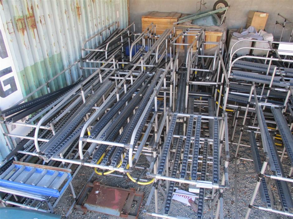 Quantity Assorted Racking / Conveyor System