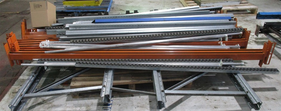 Quantity of Pallet Racking comprising: