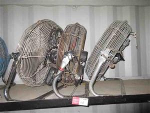 3 x 240V Floor Fans