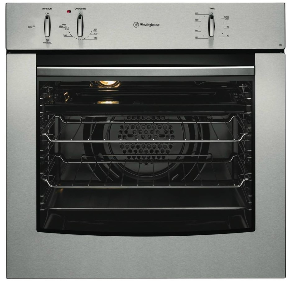 Westinghouse POR663S 60cm Electric Built-In Oven
