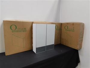 Qty 4 x SP 450 Vanity Cabinets
