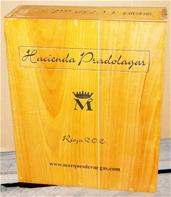 Marqués de Vargas Hacienda Pradolagar Blend 2005 (3 x 750mL), Rioja Alta