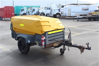 2008 Atlas Copco Diesel Powered Compressor