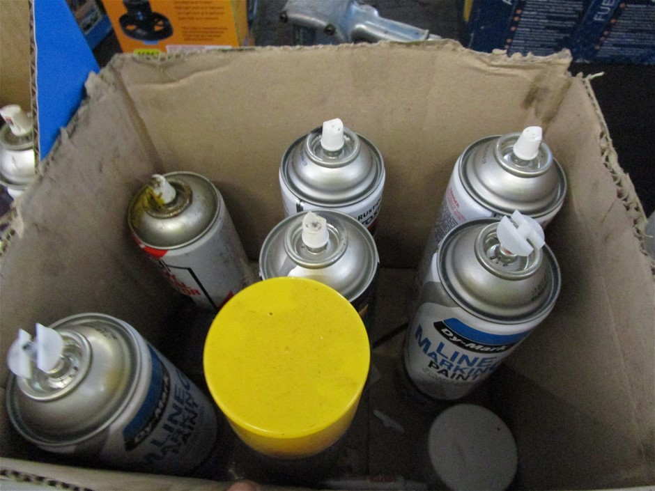 Quantity Assorted Pressure Pack Cans