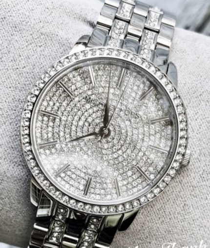 Ladies stunning new Michael Kors Couture NY 'Nina Pave' watch. Wow,