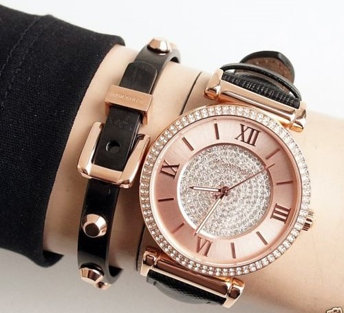 New Michael Kors Couture NY 'Catlin' stunning sophisticated ladies watch