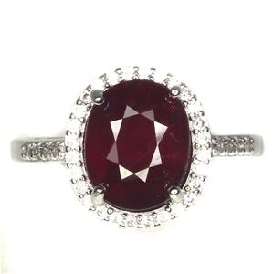 Classic Genuine Ruby Ring