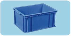 Plastic Stackable Container, 400 x 300 x