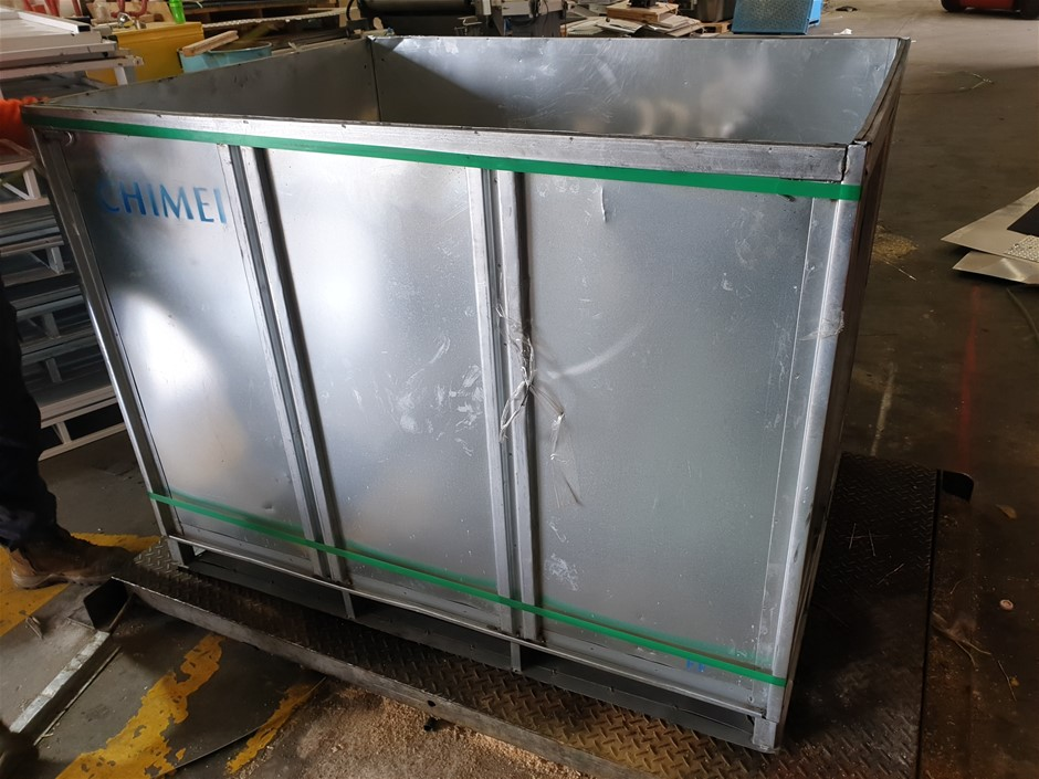 Foldable steel Boxes
