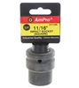 AmPro 3/4ins Dr. Square Impact Socket, Size 11/16ins. Buyers Note - Discoun