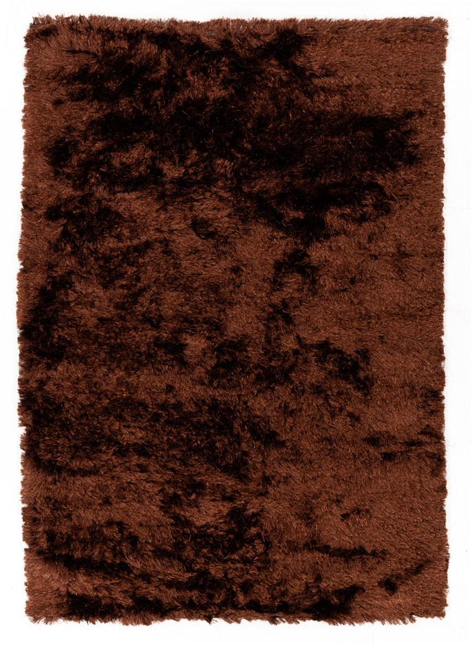Pit Loomed Hand Knotted Shaggy Floor Rug Size (cm): 158 x 226
