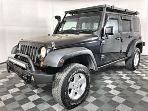 2009 Jeep Wrangler Unlimited 4WD 162,272