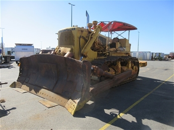 Unreserved Caterpillar D9G Dozer, Trucks, Skid Steer & Civil