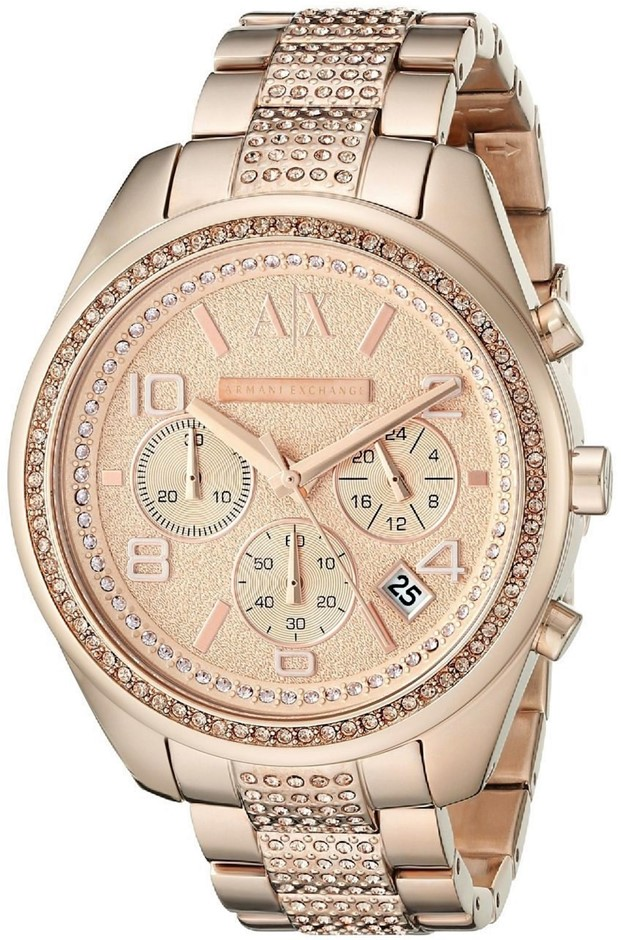 WOW! Stunning new Armani Exchange Sarena Rose Gold-plated Watch.