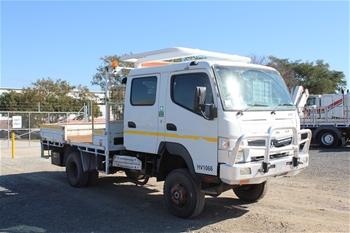2012 Mitsubishi Fuso 4 x 2 Tray Body Truck