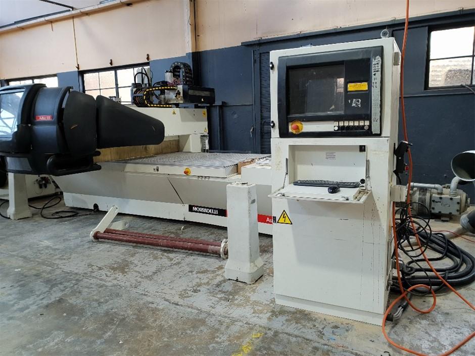 Morbidelli CNC machine