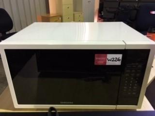 White Samsung Microwave