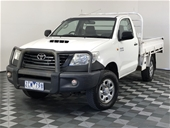 Unreserved 2012 Toyota Hilux Workmate (4x4)