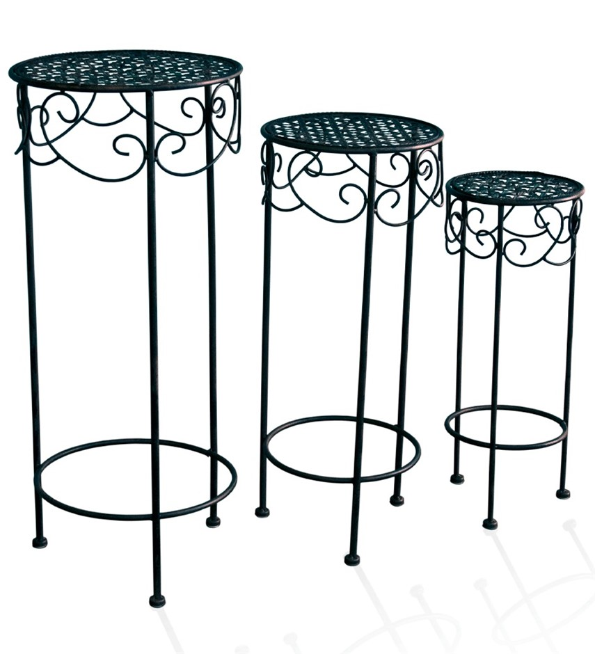 NU14007 Round Display Table (set of 3)