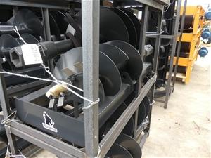 Unused Hydraulic Spiral Drill