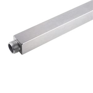 Square Chrome Ceiling Shower Arm 300mm S
