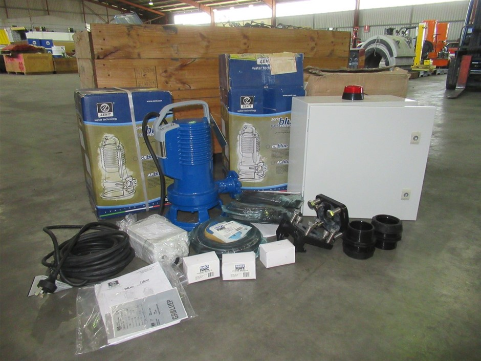 2014 Zenit TCD10 Pro Submersible Pump Kit (Pooraka, SA)